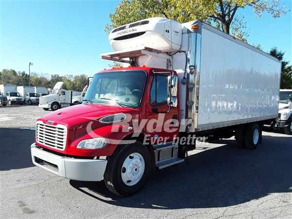 USED 2014 FREIGHTLINER M2 106 REEFER TRUCK #669112