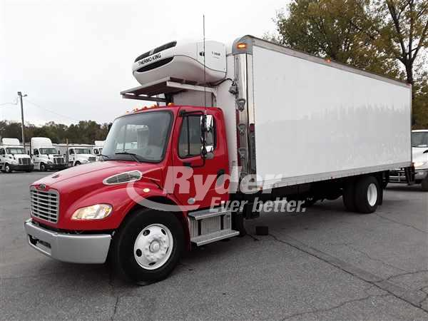 USED 2014 FREIGHTLINER M2 106 REEFER TRUCK #668667