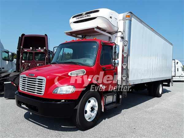 USED 2014 FREIGHTLINER M2 106 REEFER TRUCK #663689