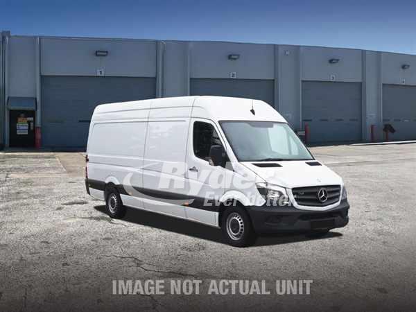 USED 2013 MERB F2CA170E CARGO VAN TRUCK #660224