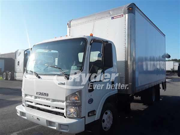 USED 2014 ISUZU NPR HD BOX VAN TRUCK #663157