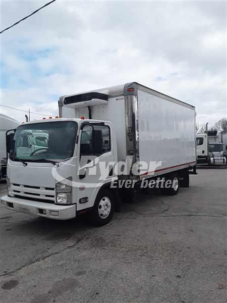USED 2014 ISUZU NPR HD REEFER TRUCK #660796