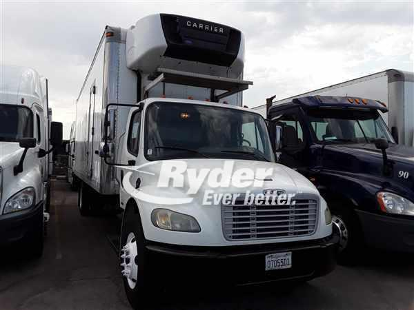 USED 2012 FREIGHTLINER M2 106 REEFER TRUCK #663504