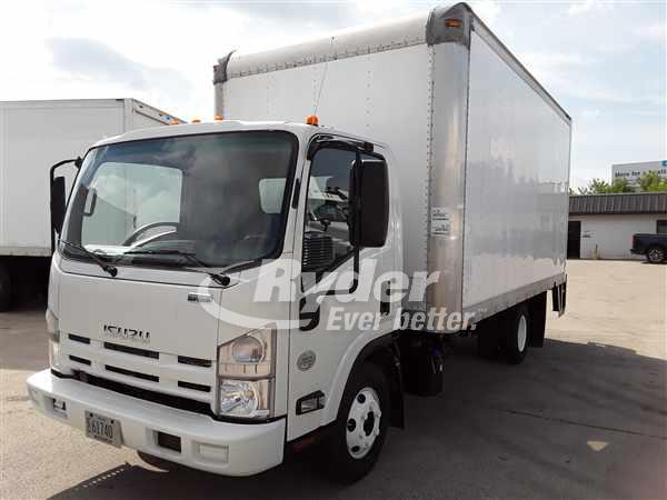 USED 2014 ISUZU NPR HD BOX VAN TRUCK #662970