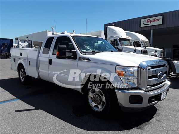 2015 FORD F-250 SUPER DUTY PANEL VAN TRUCK #662972