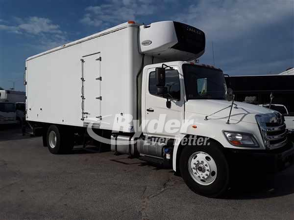 USED 2013 HINO 338 REEFER TRUCK #663508