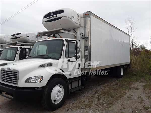 USED 2012 FREIGHTLINER M2 106 REEFER TRUCK #667289