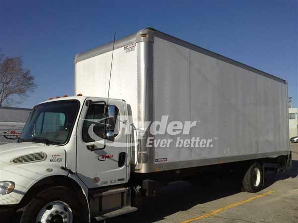 2011 FREIGHTLINER M2 106 BOX VAN TRUCK #662568