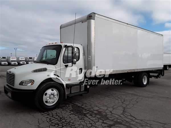USED 2011 FREIGHTLINER M2 106 BOX VAN TRUCK #662569