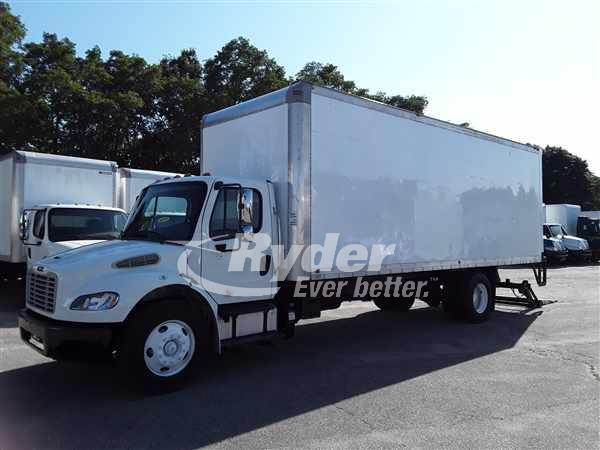 2012 FREIGHTLINER M2 106 BOX VAN TRUCK #665082