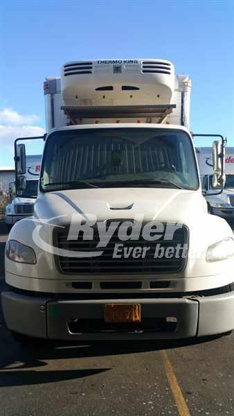 USED 2009 FREIGHTLINER M2 106 REEFER TRUCK #662029