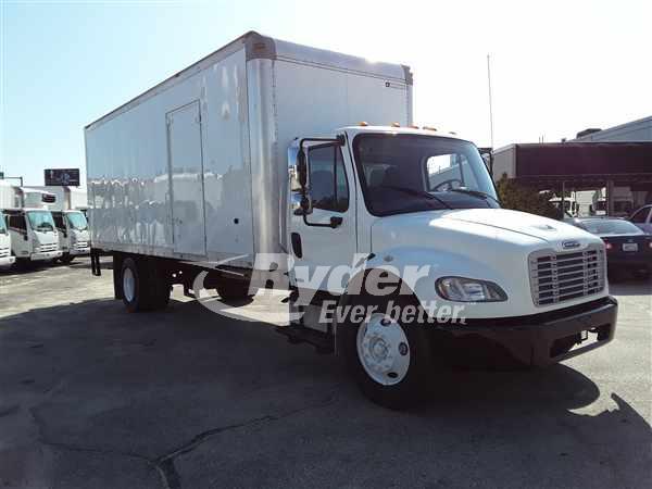 USED 2010 FREIGHTLINER M2 106 BOX VAN TRUCK #663258