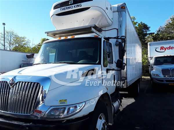 USED 2011 NAVISTAR INTERNATIONAL 4300 REEFER TRUCK #661802