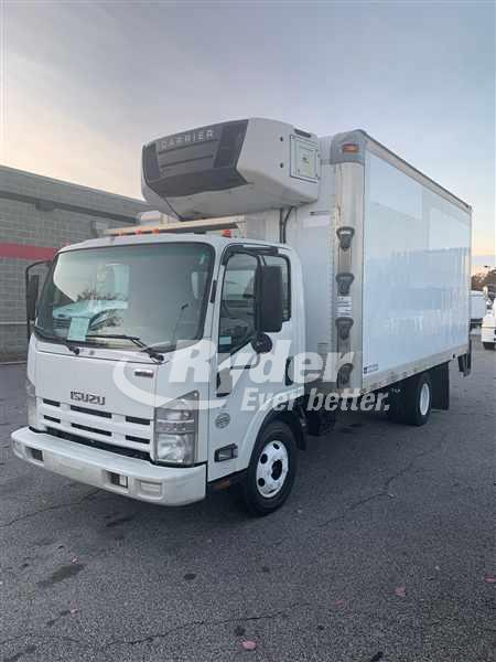 USED 2010 ISUZU NPR HD REEFER TRUCK #660229