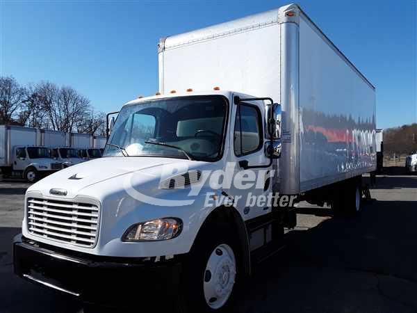 USED 2012 FREIGHTLINER M2 106 BOX VAN TRUCK #662535