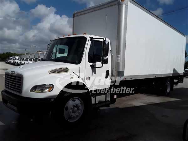 USED 2011 FREIGHTLINER M2 106 BOX VAN TRUCK #660489