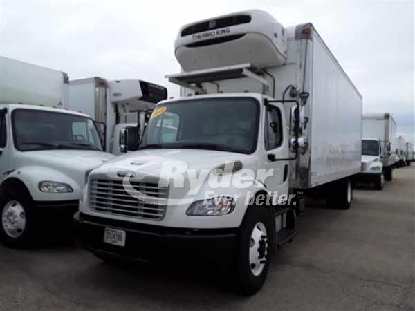 USED 2012 FREIGHTLINER M2 106 REEFER TRUCK #668155
