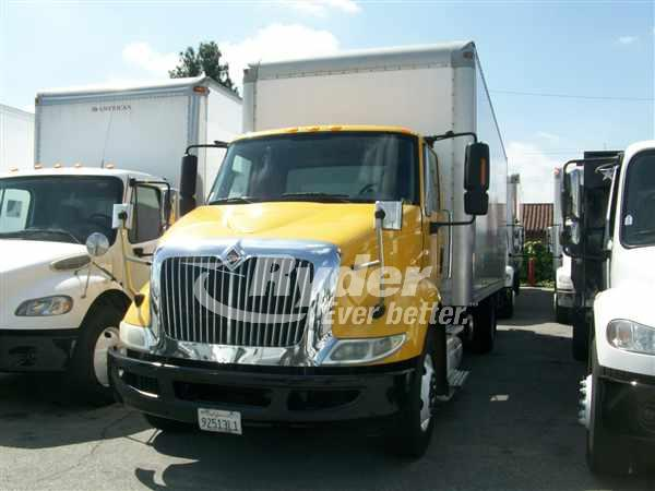 USED 2014 NAVISTAR INTERNATIONAL 8600 BOX VAN TRUCK #662020
