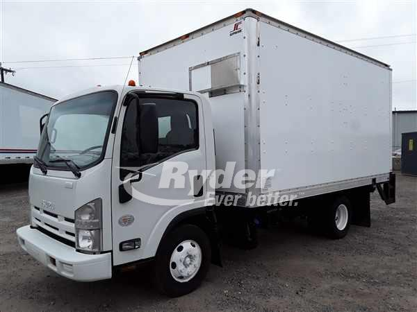 USED 2012 ISUZU NPR HD BOX VAN TRUCK #668368