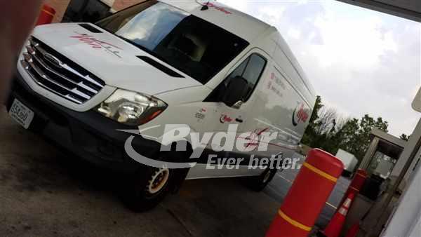 USED 2014 MERB F2CA170 CARGO VAN TRUCK #659729