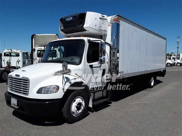 USED 2015 FREIGHTLINER M2 106 REEFER TRUCK #662767