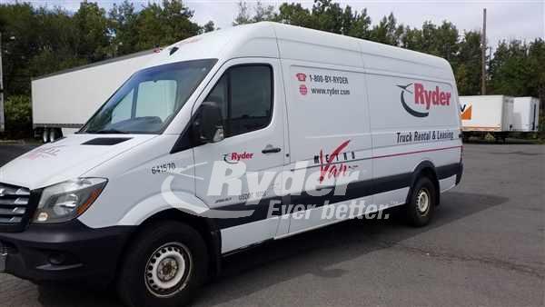 USED 2014 MERB F2CA170 CARGO VAN TRUCK #660252