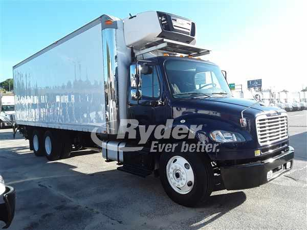 USED 2015 FREIGHTLINER M2 106 REEFER TRUCK #665582