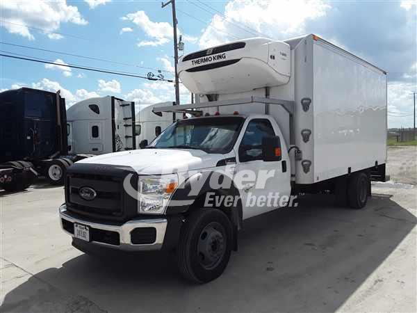 USED 2015 FORD E450-SUPER DUTY REEFER TRUCK #666667