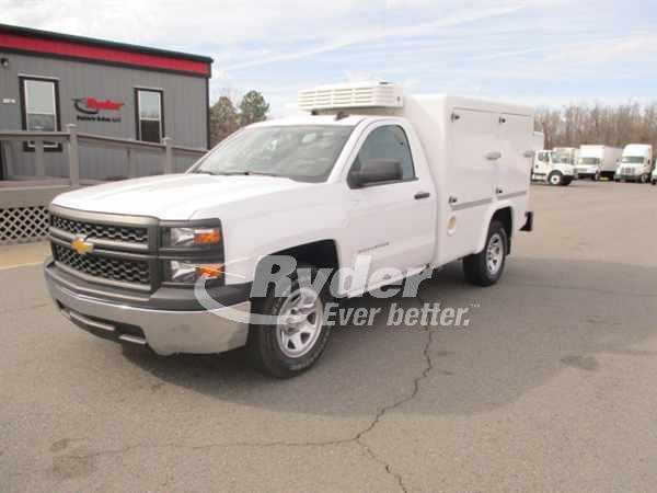 USED 2015 CHEVROLET SILVERADO 1500 PANEL VAN TRUCK #661143