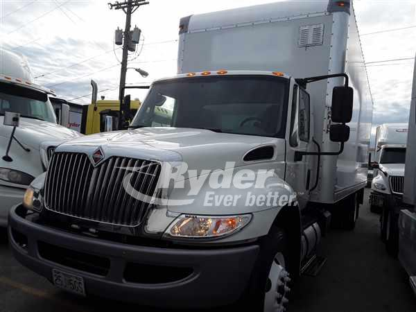 USED 2017 NAVISTAR INTERNATIONAL 4300 BOX VAN TRUCK #669330