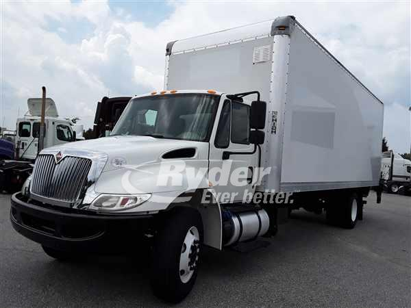 USED 2017 NAVISTAR INTERNATIONAL 4300 BOX VAN TRUCK #663108