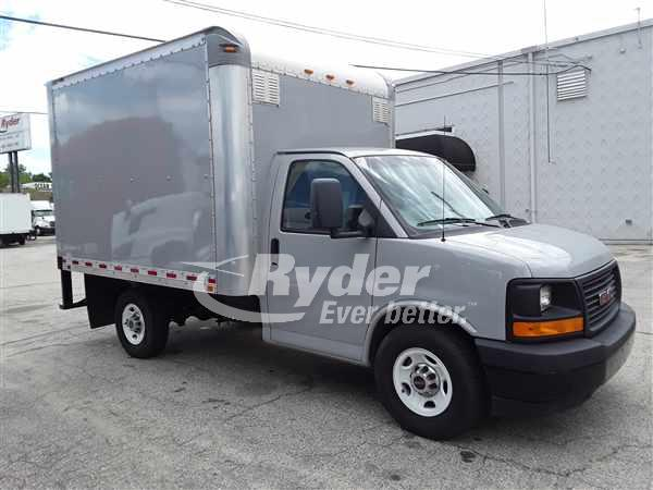 USED 2017 GM 3500 PARCEL VAN STEP VAN TRUCK #662127
