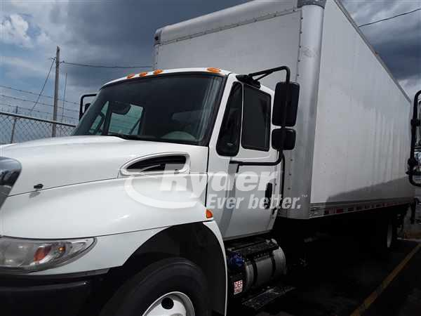2018 NAVISTAR INTERNATIONAL 4300 BOX VAN TRUCK #663742