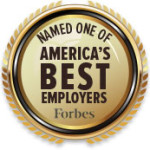 Forbes America's Best Employers medallion