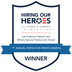 Hiring our Heroes Winner Badge