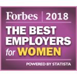 Forbes 2018 The Best Employers of Women Award