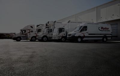 Trucks by Loading Dock