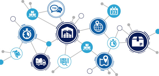 Integrated supply chain network
