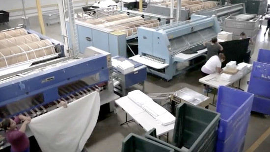 Paper printing from machinery