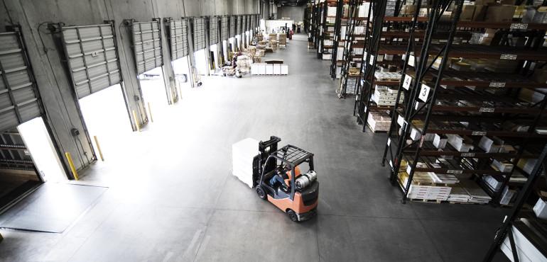 Warehouse loading bays