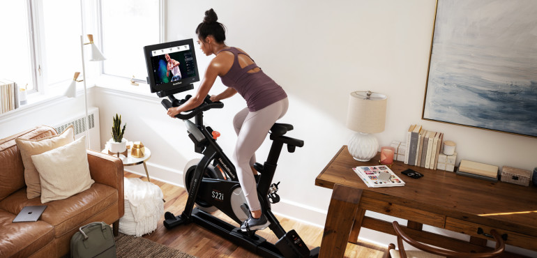 NordicTrack bike with iFit