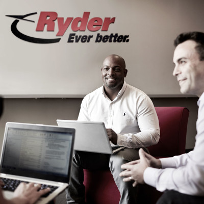 Ryder employees at work