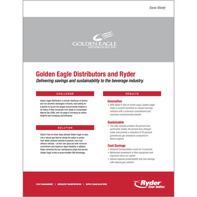 Golden Eagle Case Study