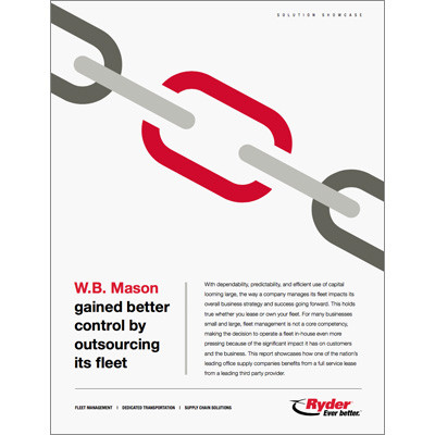 W.B. Mason Fleet Outsourcing Case Study