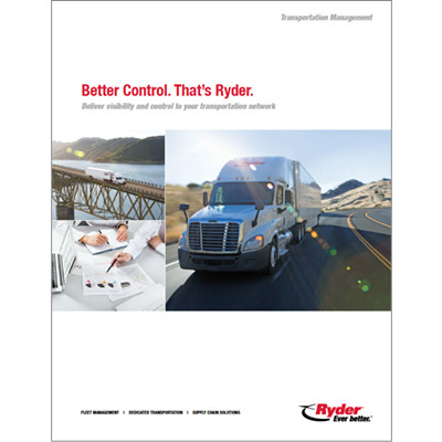 Transportation Management Capabilities Brochure