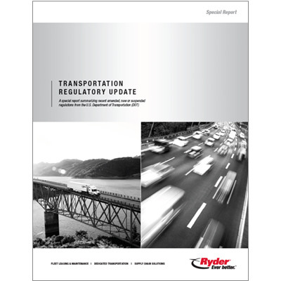 Department of Transport Report Cover
