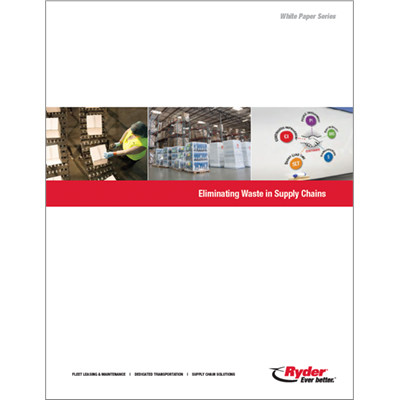 Eliminating Waste in Supply Chain Report Cover