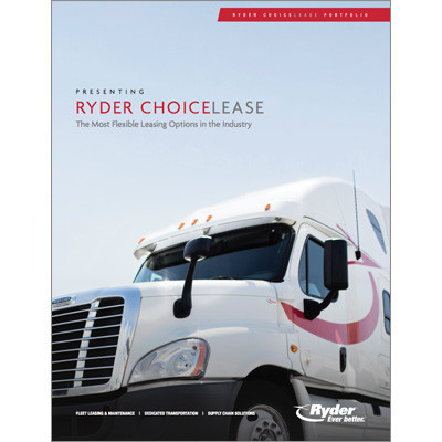 Choicelease truck leasing Capabilities Brochure