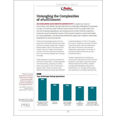e-fulfillment Capabilities Brochure