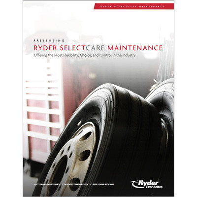 Selectcare truck maintenance Capabilities Brochure